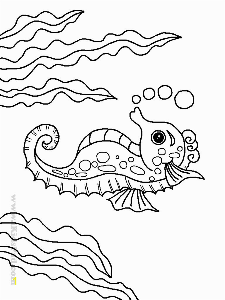 Sea Life Coloring Pages New Best Coloring Page Adult Od Kids Simple