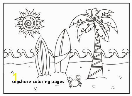Seashore Coloring Pages 243 Summer Coloring Pages for Kids