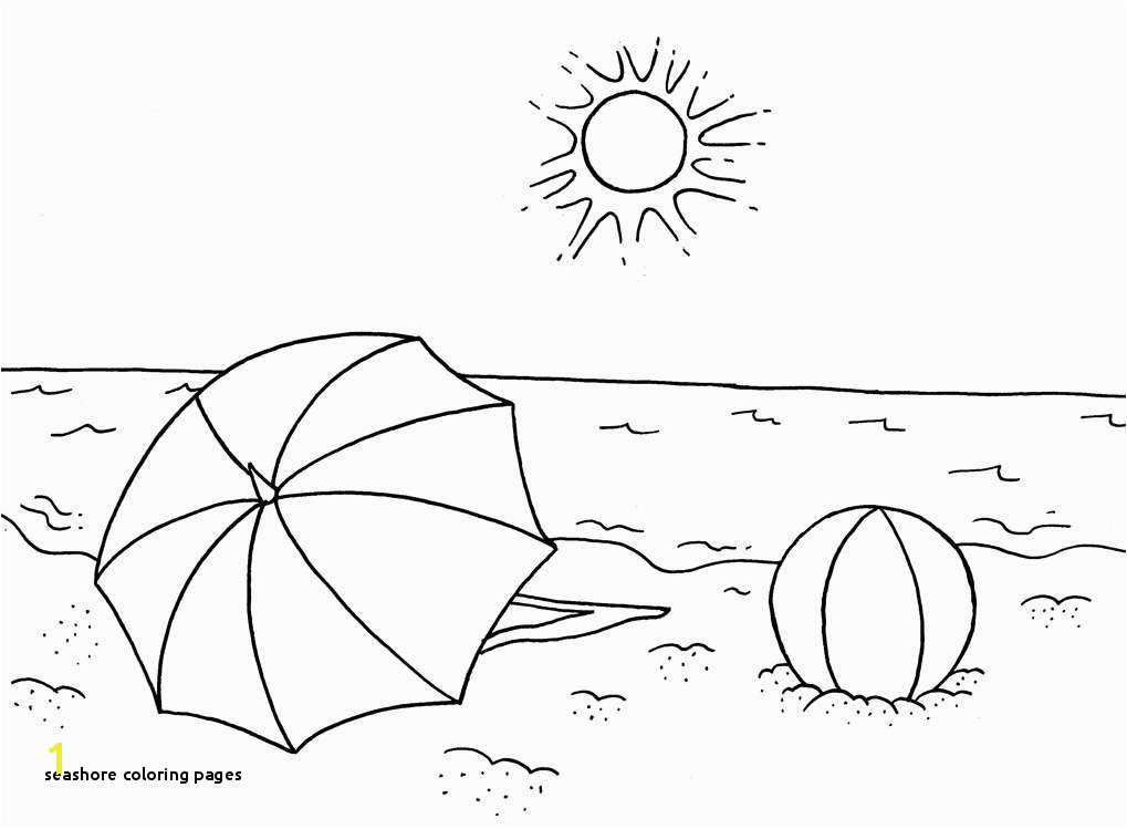 Seashore Coloring Pages Beach Coloring Pages Best Summer Coloring Printable Cds 0d – Fun