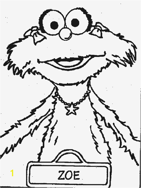 sesame street charactor zoey coloring sheets zoe sesame streetsesame street charactor zoey coloring sheets zoe sesame