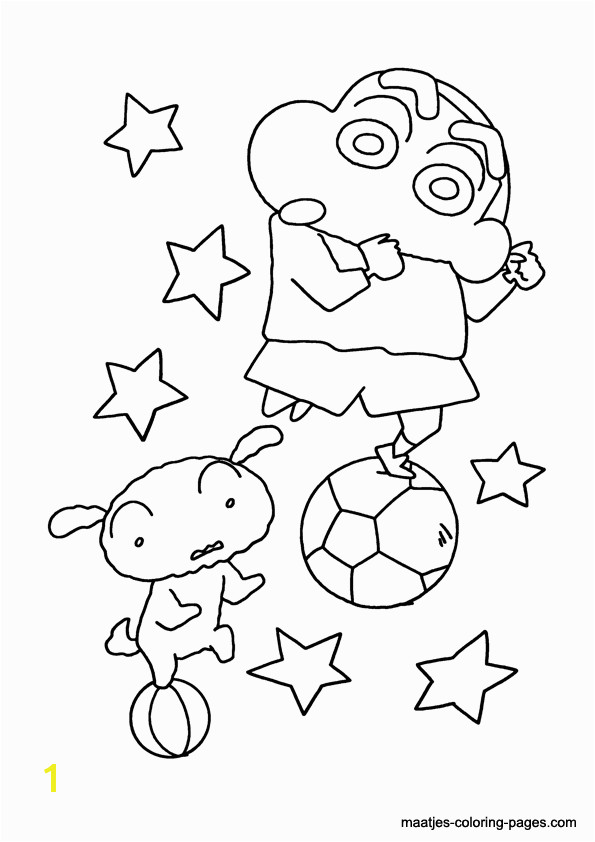 Shin Chan coloring pages 1 2