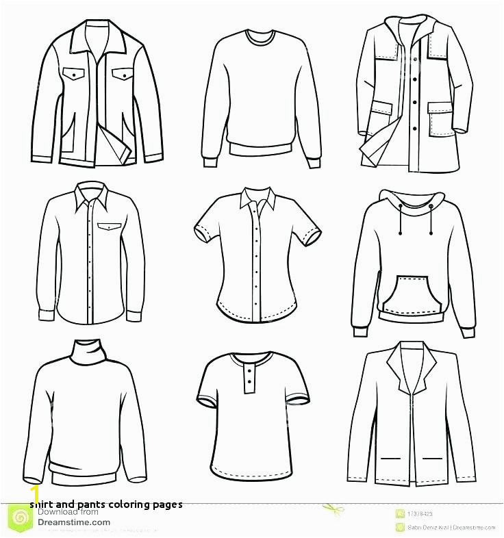 free coloring pages clothes – Simple Games Decorative