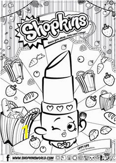 Shopkins Colour Color Page Lippy Lips ShopkinsWorld Shopkins Coloring Pages Free Printable Shopkin Coloring Pages