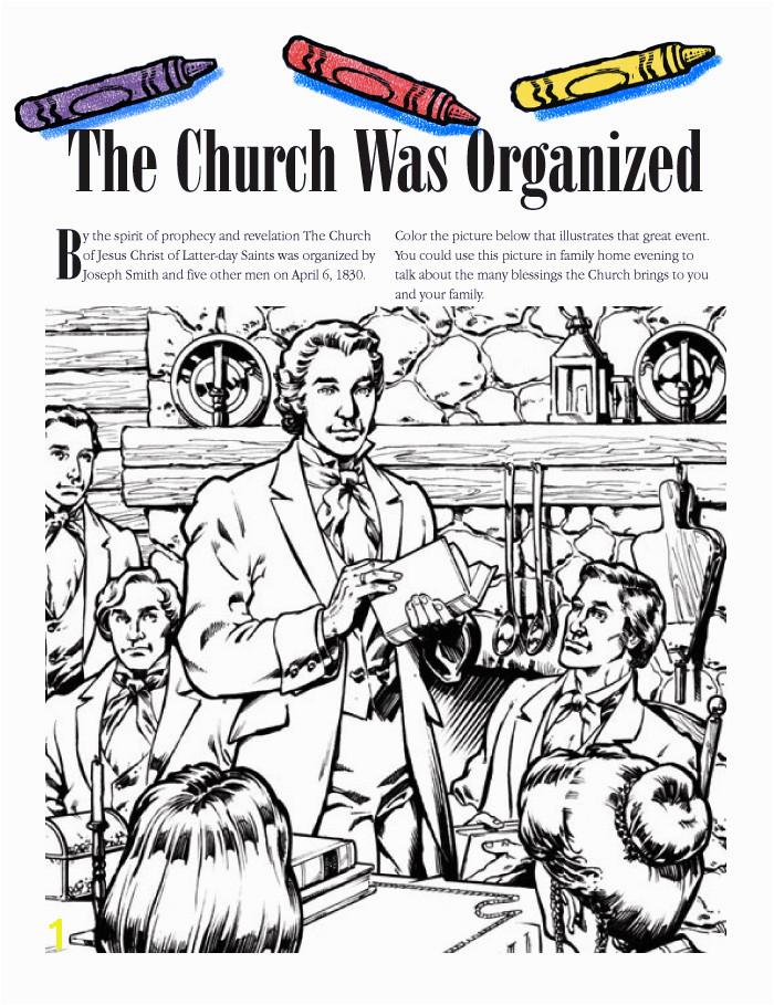 """The Church Was Organized"" June 2005 Friend """