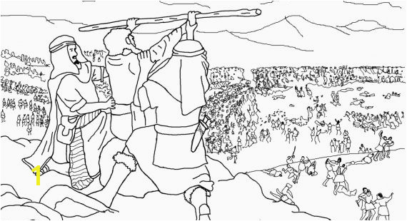 Simple Sin Achan Coloring Pages Joshua And The Promised Land Page Find Here More Than