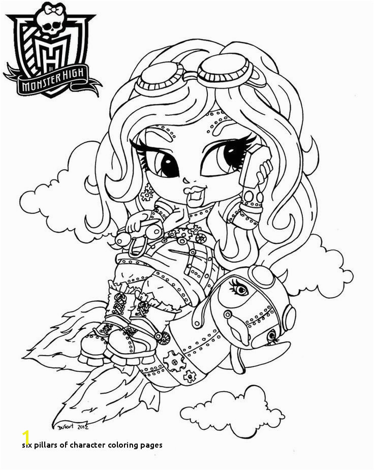 Six Pillars Character Coloring Pages Six Pillars Character Coloring Pages Unique Braces Coloring Pages