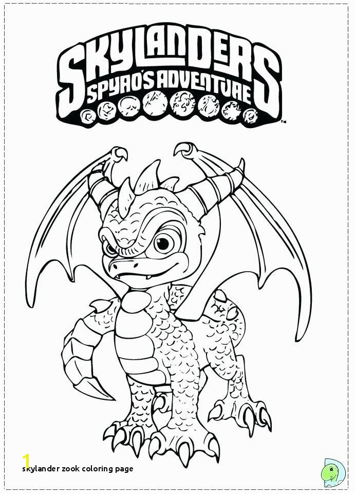 Skylander Coloring Page With O D Colouring Pages Adventure Trap Team