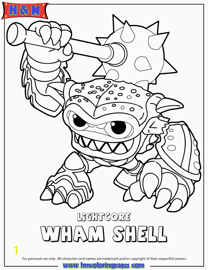 Skylanders to Color Inspirational Coloring Skylanders 10 S Eco Coloring Page