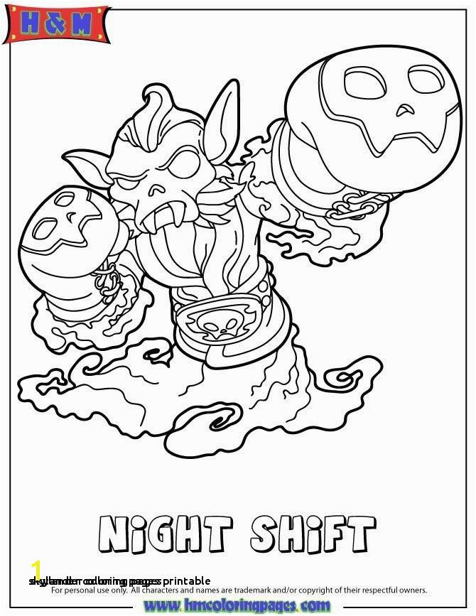 Skylander Coloring Pages Skylanders Giants Coloring Pages Best O D