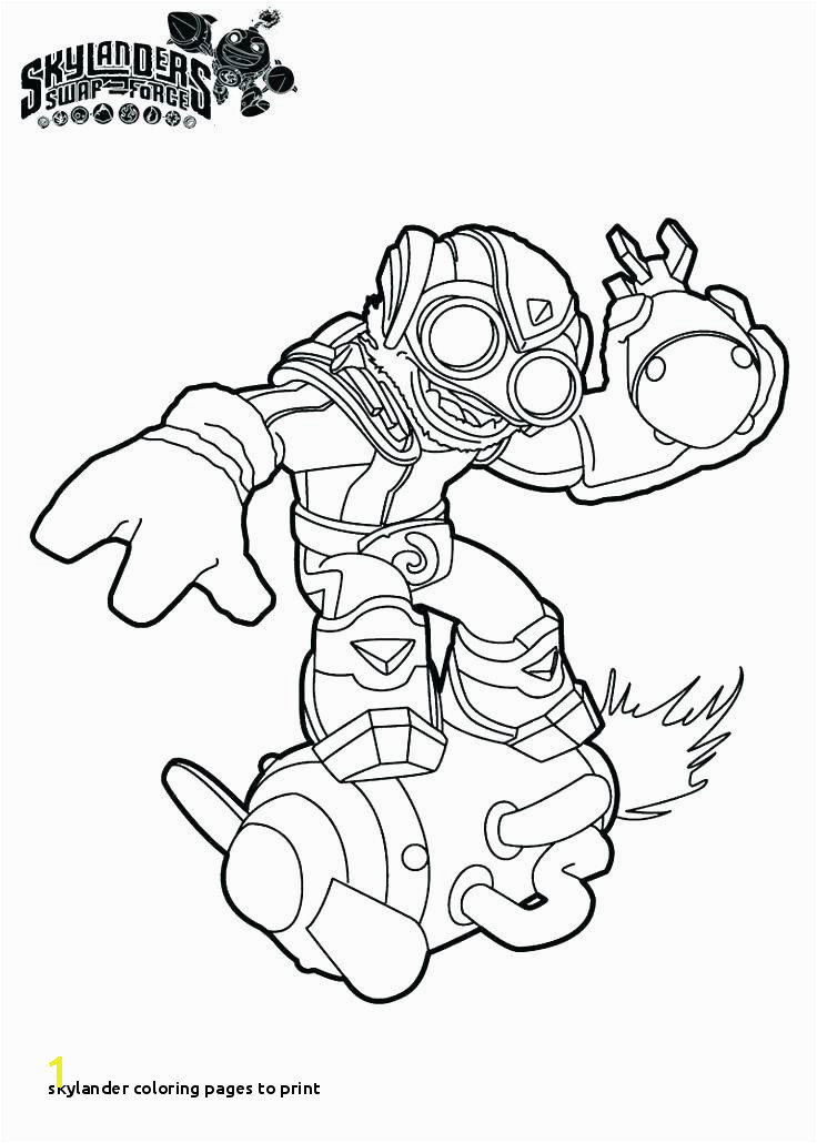 Skylanders Giants Coloring Pages Crusher Inspirational Spyro