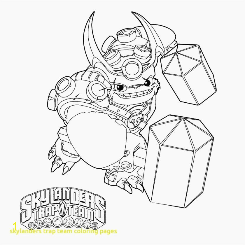 Pages to Print Skylanders Coloring Related Post