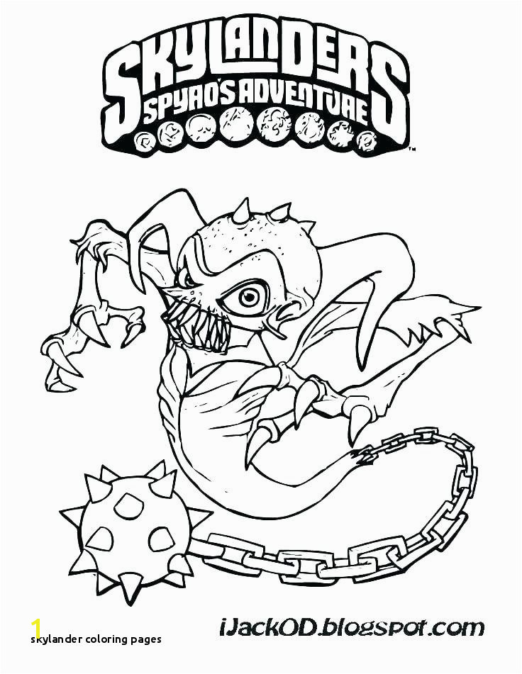 Skylander Coloring Pages Skylanders Giants Coloring Pages Best O D Colouring Fun Time Related