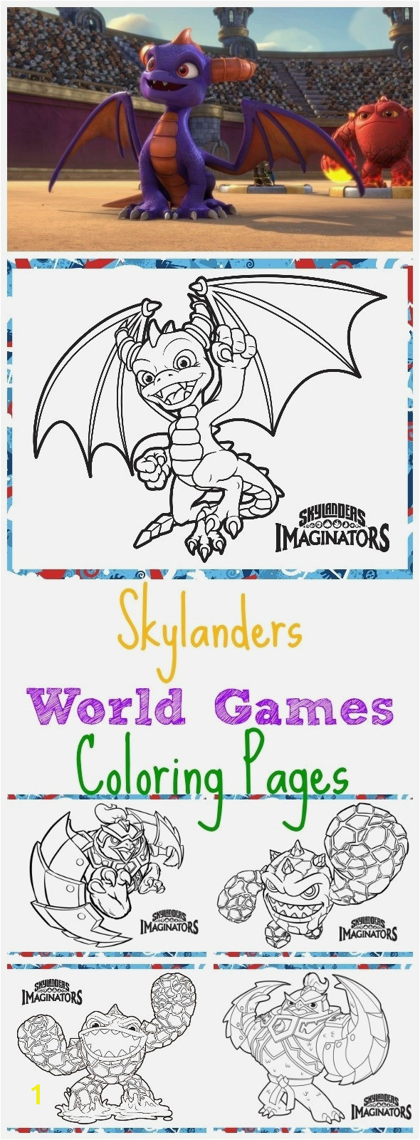 Ausmalbilder Skylanders Elegant Download and Print for Free Skylander Coloring Pages