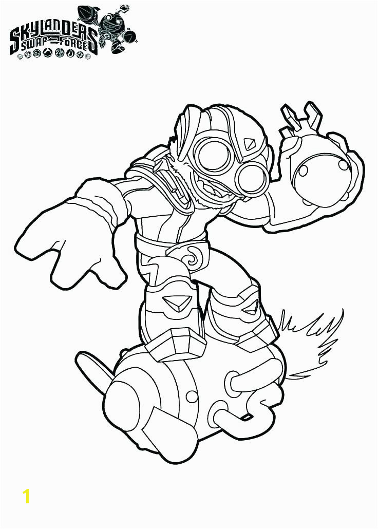 Skylanders Stealth Elf Coloring Pages Skylanders Spyros Adventure Coloring Pages Stealth Elf Free to Color