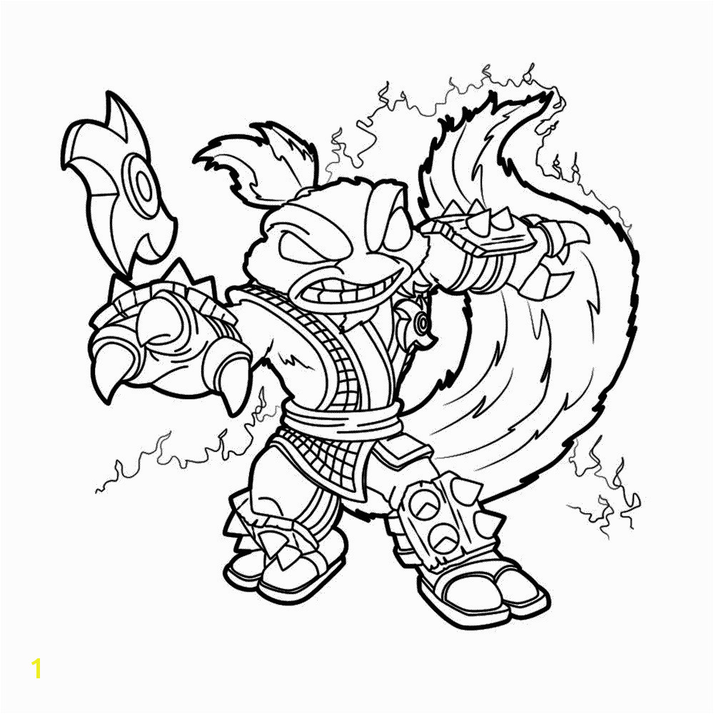 Skylanders Swap force Coloring Pages Stink Bomb Awesome Superchargers Coloring Pages Dive Clops Skylanders Page Spyro Related Post