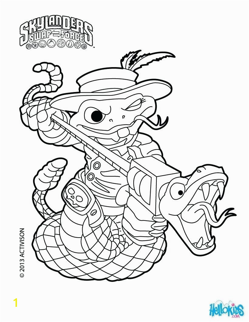 Skylanders Swap force Coloring Pages Stink Bomb New Superchargers Coloring Pages Dive Clops Skylanders Page Spyro – Seaah Pexels