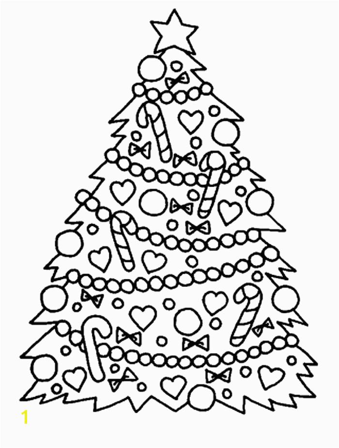 arbol de navidad para colorear para peque±os y adultos imágines descargables de dibujos navide±os