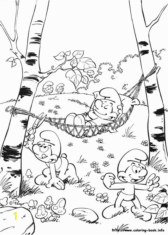 Smurfs Coloring Pages to Print Out Ois­n S Awesome Colouring Pages Smurfs Colouring Pages