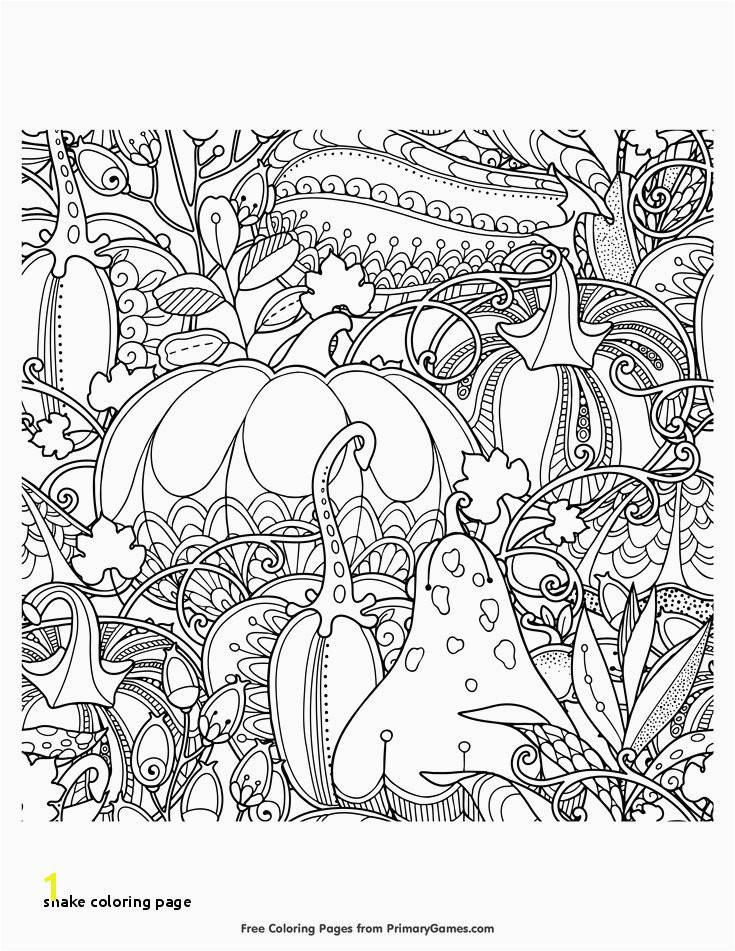 Snake Coloring Page Snake Picture to Color Luxury Fall Coloring Page Cool Free Coloring