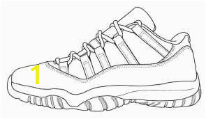 Sneaker Coloring Page Pages Printable Carmindaar Win Regarding 4