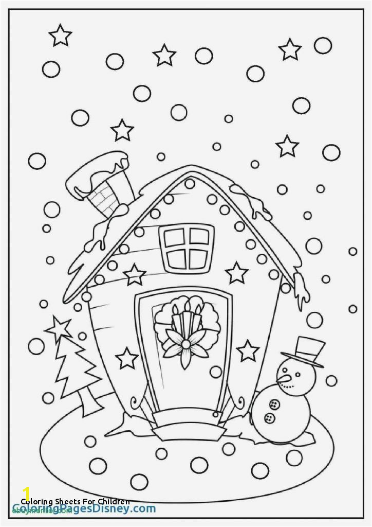 23 Coloring Sheets for Children