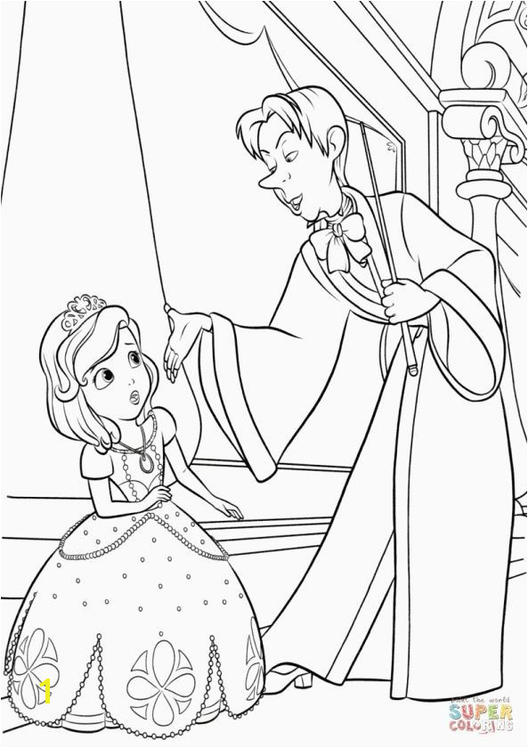 Sofia the First Coloring Page sophia Coloring Page Elegant Ariel Coloring Page Printable Unique