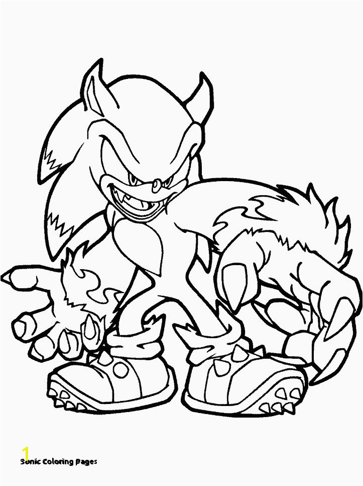 sonic Coloring Pages sonic the Hedgehog Coloring Elegant sonic Coloring Page Coloring