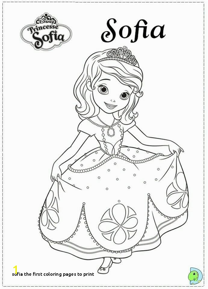 Sophia the First Coloring Pages Fresh sofia the First Printable Coloring Pages Flower Coloring Pages