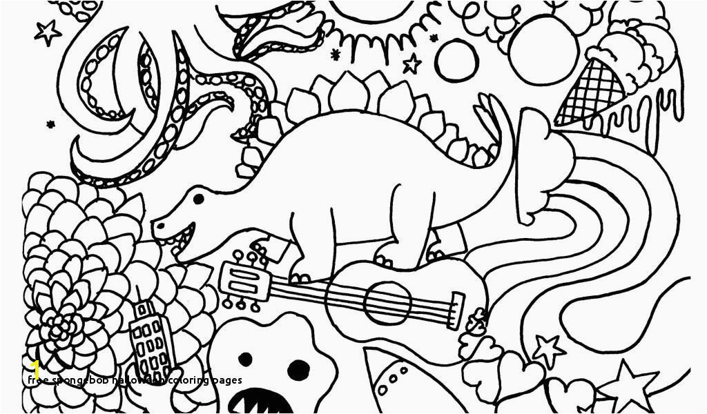 Astonishing Coloring Pages Spongebob Free