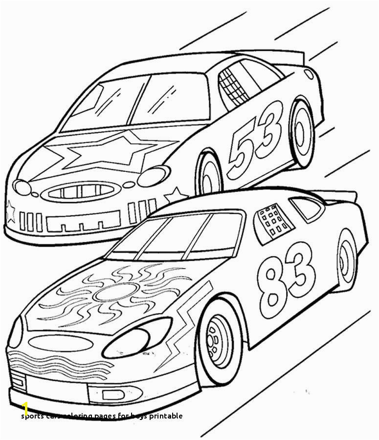 Car Coloring Pages Awesome 30 Sports Cars Coloring Pages for Boys Printable Car Coloring Pages