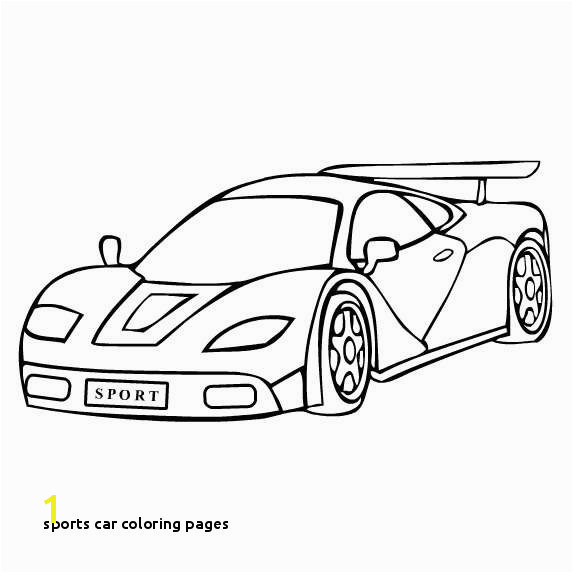 Sports Car Coloring Pages Elegant Sports Car Tuning 41