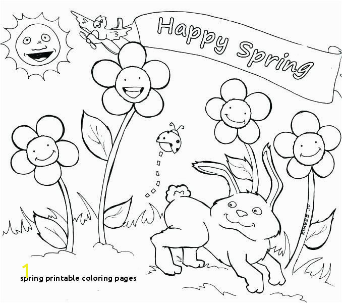 Free Printable Spring Coloring Pages for Adults Beautiful Spring Printable Coloring Pages Spring Coloring Sheets Free