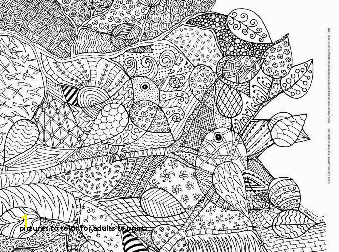 to Color for Adults to Print Spring Coloring Pages for Adults Spring Coloring Pages Best
