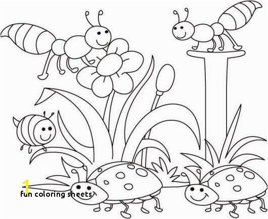 Fun Coloring Sheets Spring Coloring Sheets Spring Coloring Pages Best Printable Cds 0d