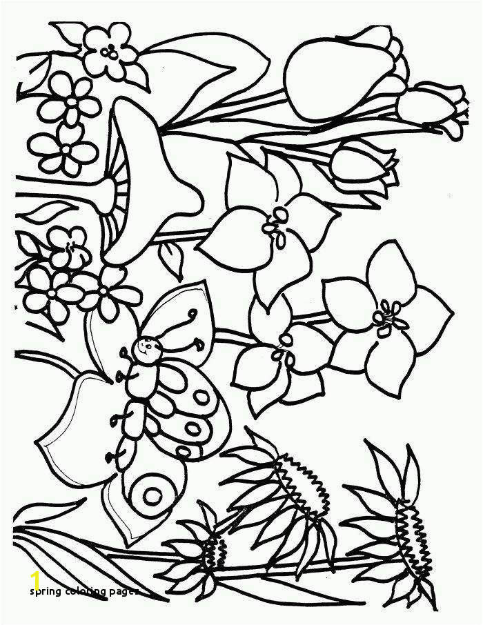 Spring Coloring Pages Spring Coloring Pages for Boys Download Lovely Printable Cds 0d