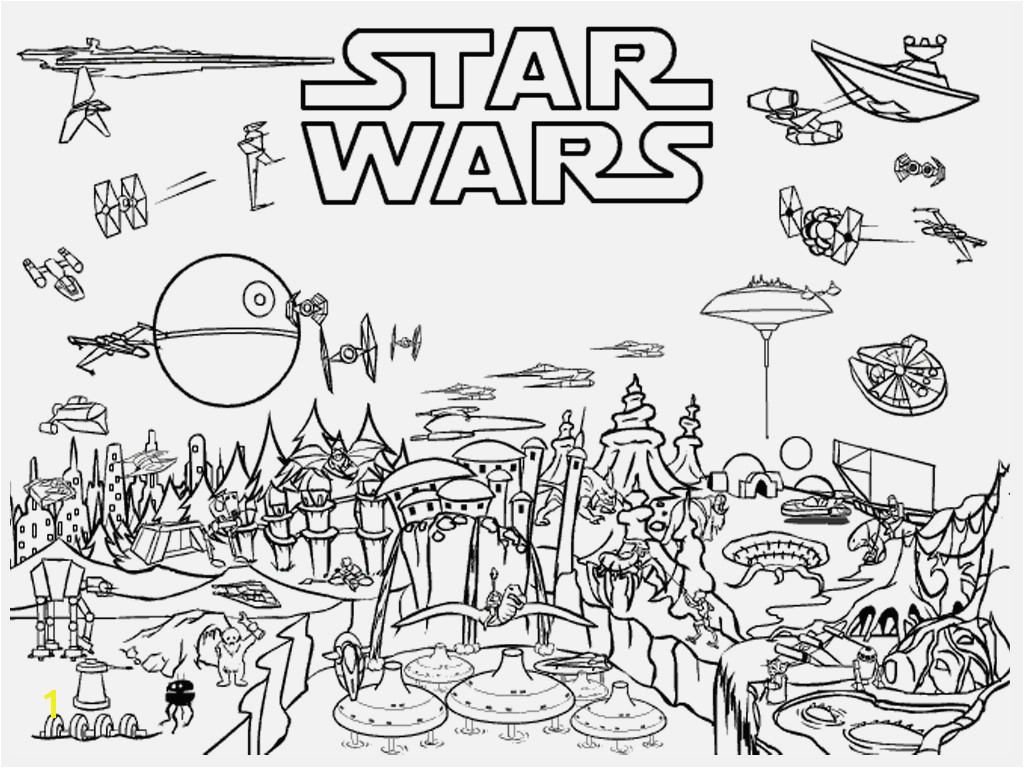 Free Star Wars Coloring Pages Printable Awesome Star Wars Coloring Sheet Gallery