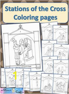 Stations Of the Cross Coloring Pages Pdf 181 Best Lent Ideas for Kids Images