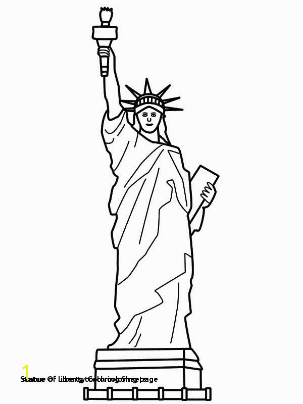 29 Statue Liberty Coloring Sheets