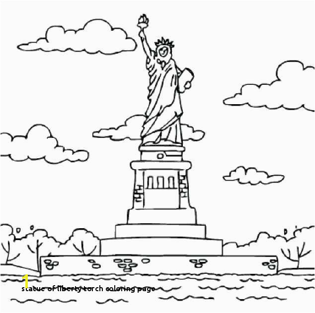 Statue Liberty torch Drawing at Getdrawings Statue Liberty