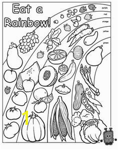 eat the rainbow coloring page Preschool Food Preschool Lessons Preschool Crafts Preschool Binder