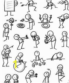 Posters — Sketchnotes by Eva Lotta Lamm Stick Man