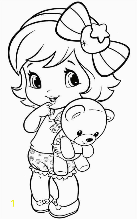Coloring Pages Little Girl