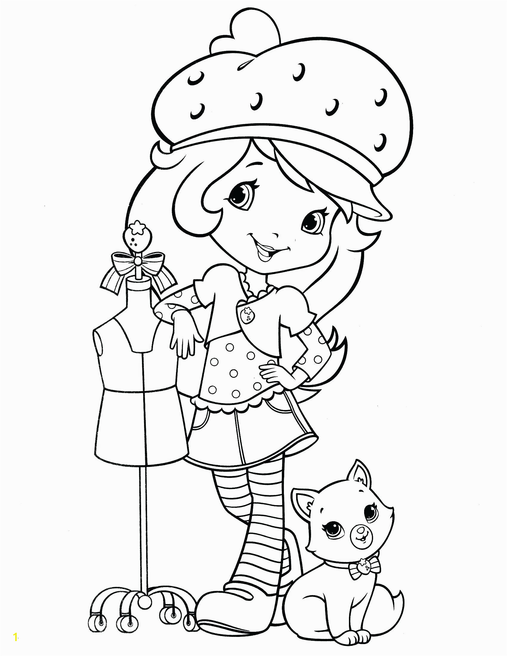 Strawberry Shortcake Doll Coloring Pages Strawberry Shortcake Doll Coloring Pages – Motionacademy