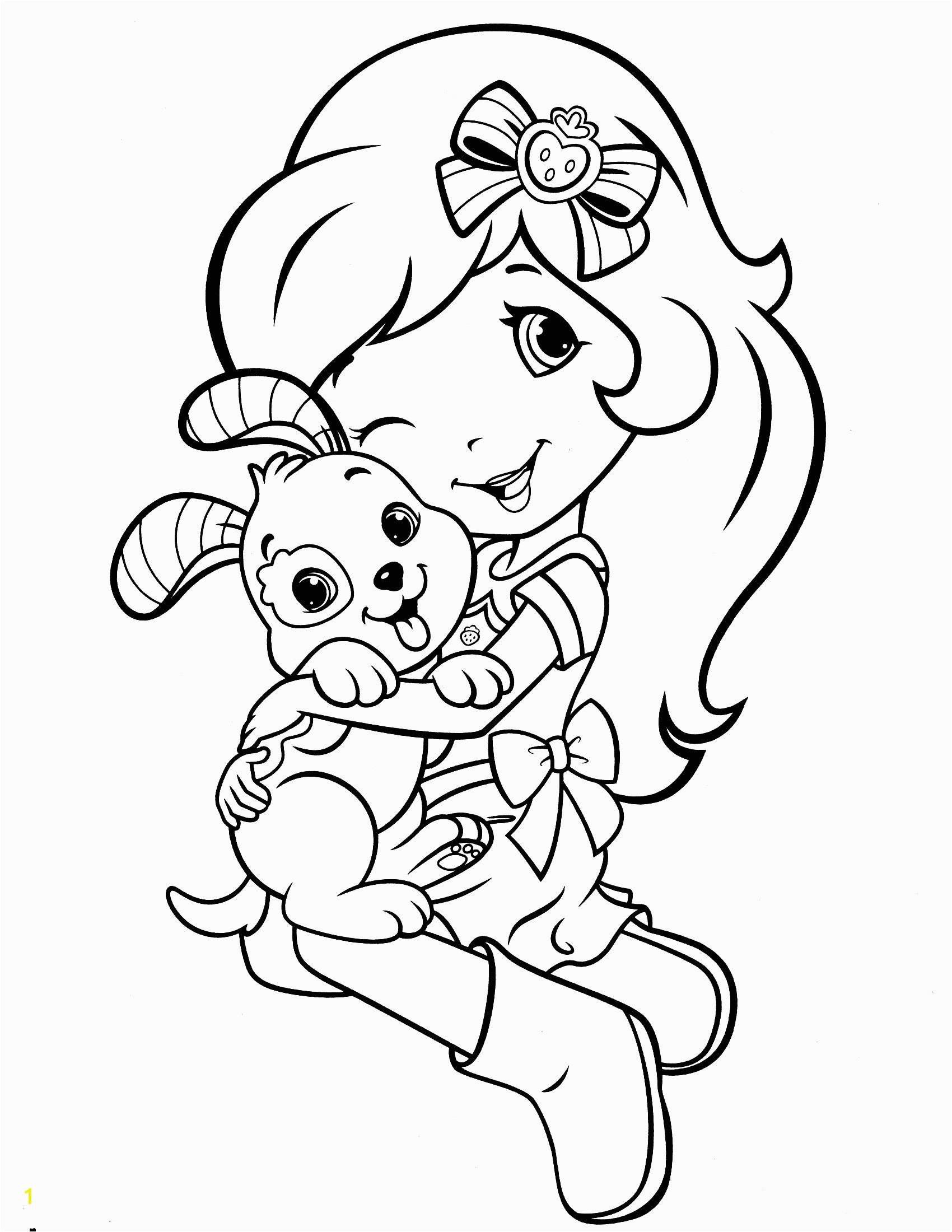Strawberry Shortcake Doll Coloring Pages Strawberry Shortcake Coloring Pages Lovely Strawberry Coloring Page