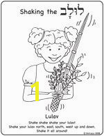 Shirlala Blog Archive Lulav Printable Coloring Page Sukkot Pinterest