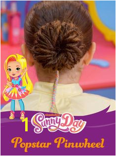 Sunny Day the new series on Nickelodeon teaches kids that confidence and friendship are always in style This popstar pinwheel bun