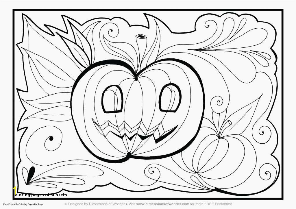 Coloring Pages Sunsets Cool Halloween Drawings Luxury Lovely Printable Home Coloring Pages