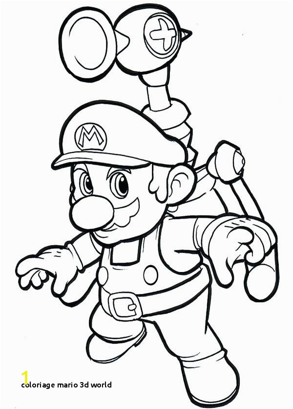Coloriage Mario 3d World Bros Coloring Pages Free Printable Sheets Super Mario World 3d
