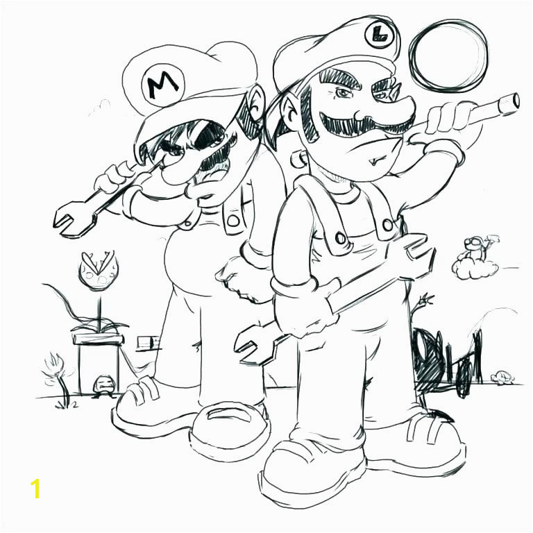Super Mario Kart Coloring Pages Free Coloring Page Mario Coloring Pages Line Bros Coloring Pages