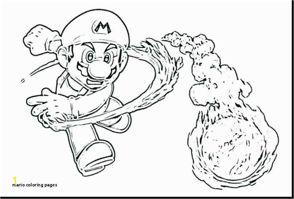 Mario Coloring Pages Free Printable Super Mario Galaxy Coloring Pages Beautiful 3 O D
